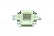 LED COB Multichip rot 20-30V / 10W.