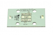LED SMD Multichip rot 20-30V / 10W.