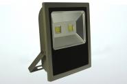 LED-Flutlichtstrahler 8500 Lumen 230V AC/DC kaltweiss 100W flache Bauweise DC-kompatibel