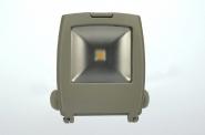 Design LED-Flutlichtstrahler 600 Lumen 230V AC warmweiss 11W Strukturiertes Glas