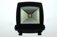 Design LED-Flutlichtstrahler 850 Lumen 230V AC warmweiss 11W Strukturiertes Glas