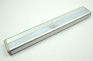LED-Lichtleiste batteriebetrieben 30 Lumen 3-6V DC kaltweiss 1 W Bewegungsmelder DC-kompatibel