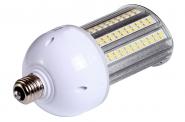 E27 LED-Strassenlampe 2800 Lm. 230V AC warmweiss 20W IP64, 4KV, inkl. Stütze