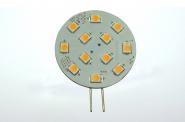 G4 LED-Modul 180 Lm. 12V AC/DC warmweiss 2W CRI>90 DC-kompatibel
