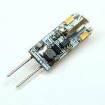 G4 LED-Stiftsockellampe 65 Lm. 12V AC/DC warmweiss 0,6W dimmbar DC-kompatibel