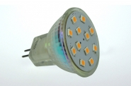 GU4 LED-Spot MR11 190 Lm. 12V AC/DC warmweiss 2W CRI>90 DC-kompatibel