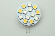 G4 LED-Modul 130/30/15 Lm. 12V AC/DC blau/rot/warmweiss 1,3W  DC-kompatibel