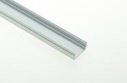 Aluprofil 1500mm x 16mm x 12mm, für 6-10mm Lichtbänder