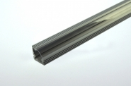 Aluprofil 1500mm x 18mm x 18mm, für 6-10mm Lichtbänder