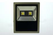 LED-Flutlichtstrahler 11020 Lumen 230V AC/DC warmweiss 150W flache Bauweise DC-kompatibel