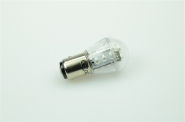 BAY15D LED-Miniglobe 51 Lm. 12V AC/DC Grün 0,9W dimmbar DC-kompatibel