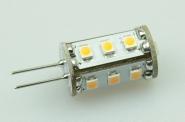 G4 LED-Stiftsockellampe 90 Lm. 12V AC/DC warmweiss 0,8W dimmbar DC-kompatibel