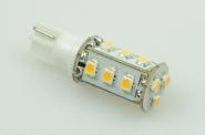 T10 LED-Stiftsockellampe 90 Lm. 12V AC/DC warmweiss 0,8W dimmbar DC-kompatibel