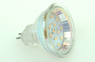 GU4 LED-Modul 115 Lm. 12V AC/DC warmweiss 1,5 W dimmbar, CRI>95 DC-kompatibel