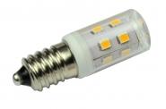 E14 LED-Tubular 210 Lm. 230V AC kaltweiss 2 W kleine Bauform DC-kompatibel