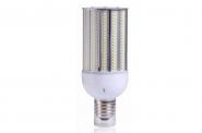 E27 LED-Strassenlampe 4200 Lm. 230V AC warmweiss 30W IP64, 4KV, inkl. Stütze