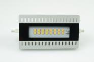 R7S LED-Stablampe 900 Lm. 230V AC/DC warmweiss 10W  DC-kompatibel