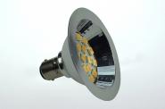 BA15D LED-Bajonettsockellampe AR70 250 Lm. 12V AC/DC warmweiss 2,7W dimmbar DC-kompatibel