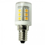 E14 LED-Stiftsockellampe 252 Lm. 12V AC/DC warmweiss 2,3W dimmbar DC-kompatibel