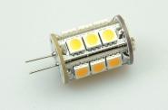 G4 LED-Stiftsockellampe 252 Lm. 12V AC/DC warmweiss 2,3W dimmbar DC-kompatibel