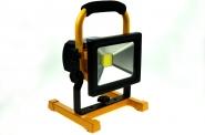 LED-Flutlichtstrahler 1300 Lumen 12V DC kaltweiss 20W USB Ladeport DC-kompatibel