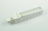 G24-D1 LED-Kompaktlampe 540 Lm. 230V AC/DC warmweiss 8W DC-kompatibel