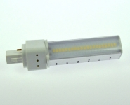 G24-D1 LED-Kompaktlampe 550 Lm. 230V AC/DC neutralweiss 8W DC-kompatibel
