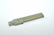 G23 LED-Kompaktlampe 450 Lm. 230V AC/DC warmweiss 6W DC-kompatibel