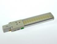 G23 LED-Kompaktlampe 480 Lm. 230V AC/DC warmweiss 6W DC-kompatibel
