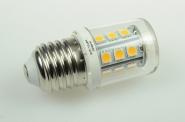 E27 LED-Stiftsockellampe 290 Lm. 12V AC/DC warmweiss 2,6W dimmbar DC-kompatibel
