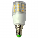 E14 LED-Tubular 330 Lm. 12V AC/DC warmweiss 4W gekapselt DC-kompatibel