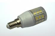 E14 LED-Tubular 340 Lm. 230V AC kaltweiss 3W gekapselt