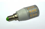 E14 LED-Tubular 390 Lm. 12V AC/DC kaltweiss 4W gekapselt DC-kompatibel