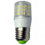 E27 LED-Tubular 330 Lm. 12V AC/DC warmweiss 4W ge DC-kompatibel
