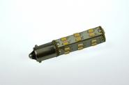 BA9s LED-Bajonettsockellampe 146 Lm. 12V AC/DC warmweiss 1,3W dimmbar DC-kompatibel