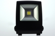 LED-Flutlichtstrahler 2550 Lumen 230V AC warmweiss 30W Strukturiertes Glas