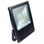 LED-Flutlichtstrahler 3200 Lumen 230V AC kaltweiss 35W flache Bauweise, Blendschutz