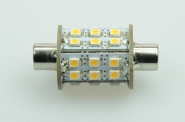 S8x42 LED-Soffitte 180 Lm. 12V AC/DC warmweiss 1,8W DC-kompatibel