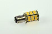BA15D LED-Bajonettsockellampe 300 Lm. 12V AC/DC warmweiss 3,2W dimmbar DC-kompatibel