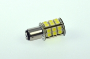 BA15D LED-Bajonettsockellampe 320 Lm. 12V AC/DC kaltweiss 3,2W dimmbar DC-kompatibel