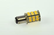 BAY15D LED-Bajonettsockellampe 300 Lm. 12V AC/DC warmweiss 3,2W dimmbar DC-kompatibel