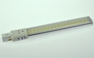 G23 LED-Kompaktlampe 600 Lm. 230V AC/DC neutralweiss 8W DC-kompatibel