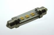 S8x42 LED-Soffitte 50 Lm. 12V AC/DC kaltweiss 0,8W dimmbar DC-kompatibel