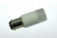 BA15D LED-Bajonettsockellampe 140 Lm. 12V AC/DC warmweiss 2W dimmbar DC-kompatibel