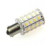 BA15S LED-Bajonettsockellampe 550 Lm. 10-30V DC warmweiss 4,8W  DC-kompatibel