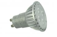 GU10 LED-Spot PAR16 350 Lm. 230V AC kaltweiss 5W dimmbar