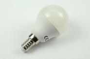 E14 LED-Globe G45 400 Lm. 230V AC/DC kaltweiss 3,7W DC-kompatibel