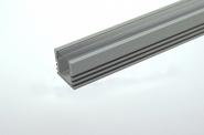 Aluprofil 500mm x 15mm x 6mm, für 6-10mm Lichtbänder