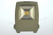 LED-Flutlichtstrahler 3200 Lumen 230V AC warmweiss 56W Strukturiertes Glas