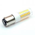 BAY15D LED-Tubular 380 Lm. 12V AC/DC warmweiss 3,2 W  DC-kompatibel